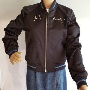 Brand New Coach Black Jacket MSRP $598